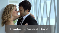 Lovefest - Caissie & David